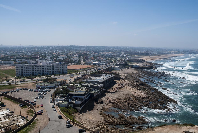 Casablanca Vista Corniche Sul