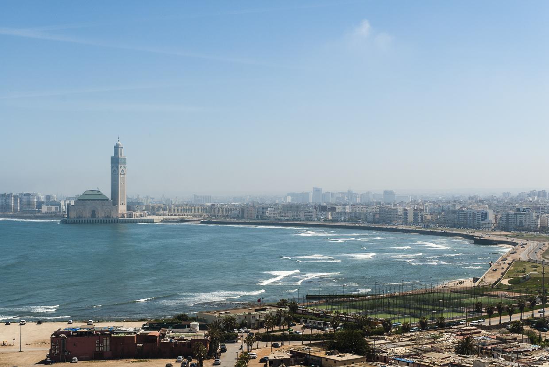 Casablanca Vista Panorâmica