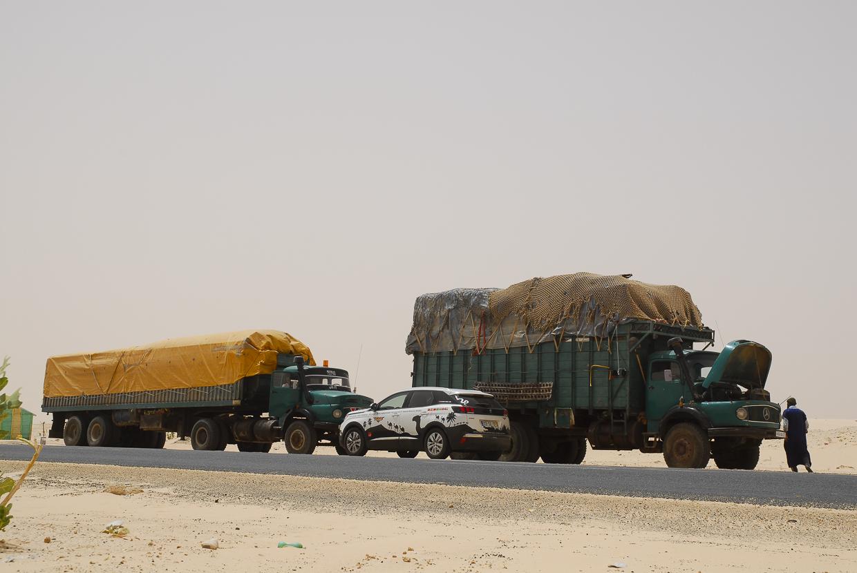 Mauritânia Estrada NKK Atar