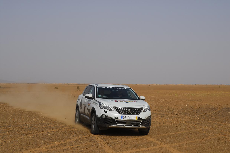 Mauritânia a acelerar no Sahara a caminho de Atar