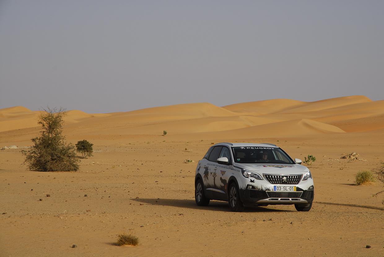 Mauritânia dunas a caminho de Atar