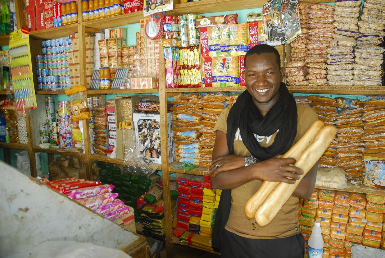 Mauritânia mercearia em Akjoujt