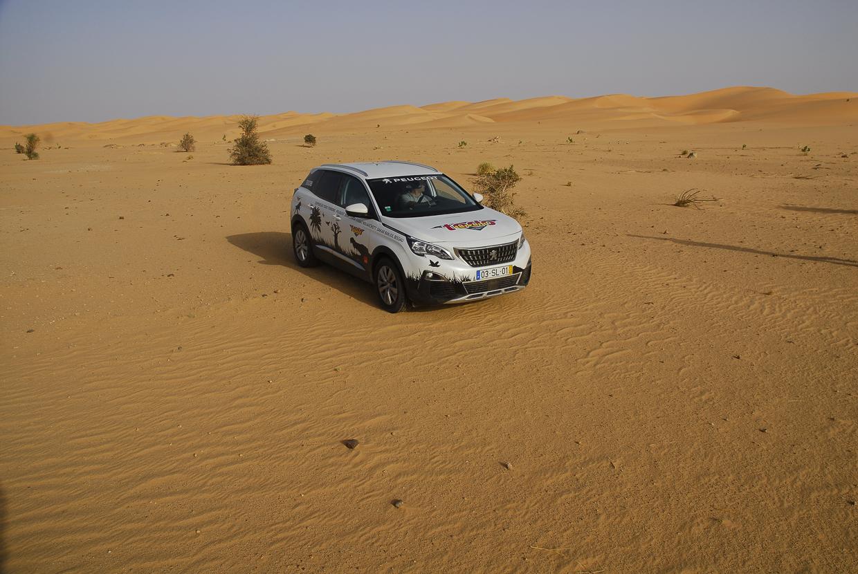Mauritânia no Sahara a caminho de Atar