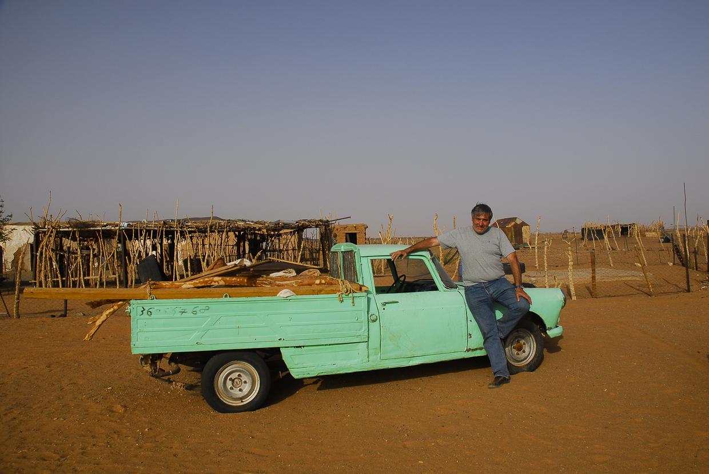 Mauritânia nunca esquecemos o primeiro carro que conduzimos