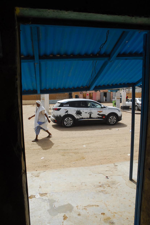 Mauritânia paragem em Akjoujt