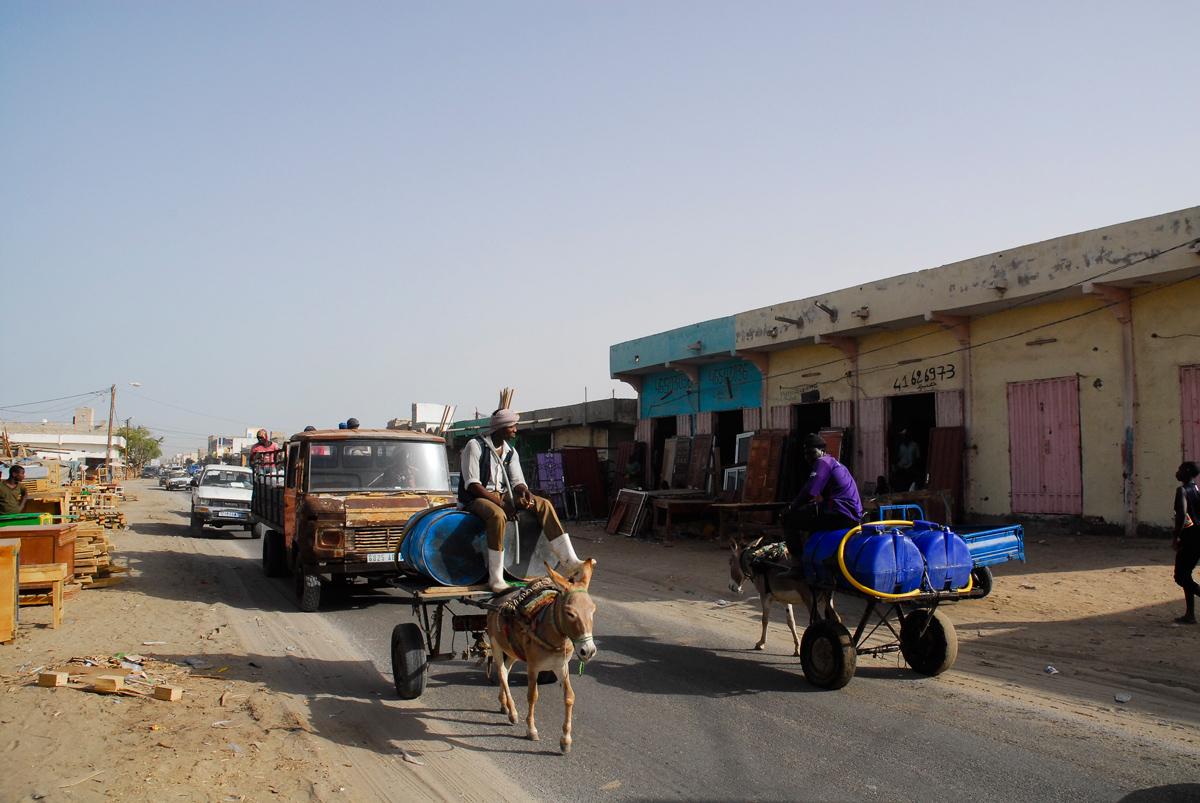 Mauritania Aguadeiros em Nouakchott