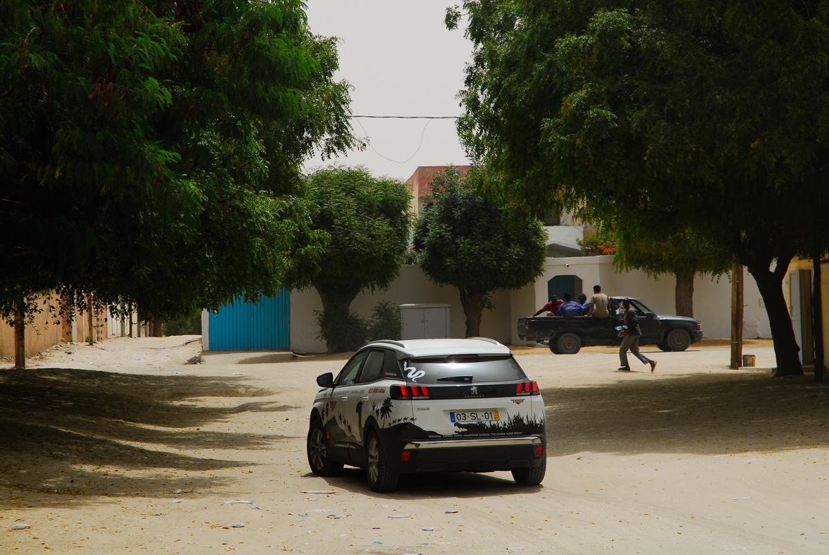Mauritania Nouakchott rua secundária