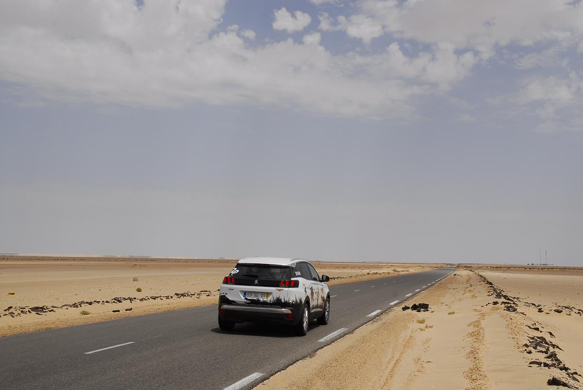 Na estrada RN1, a caminho de Nouakchott