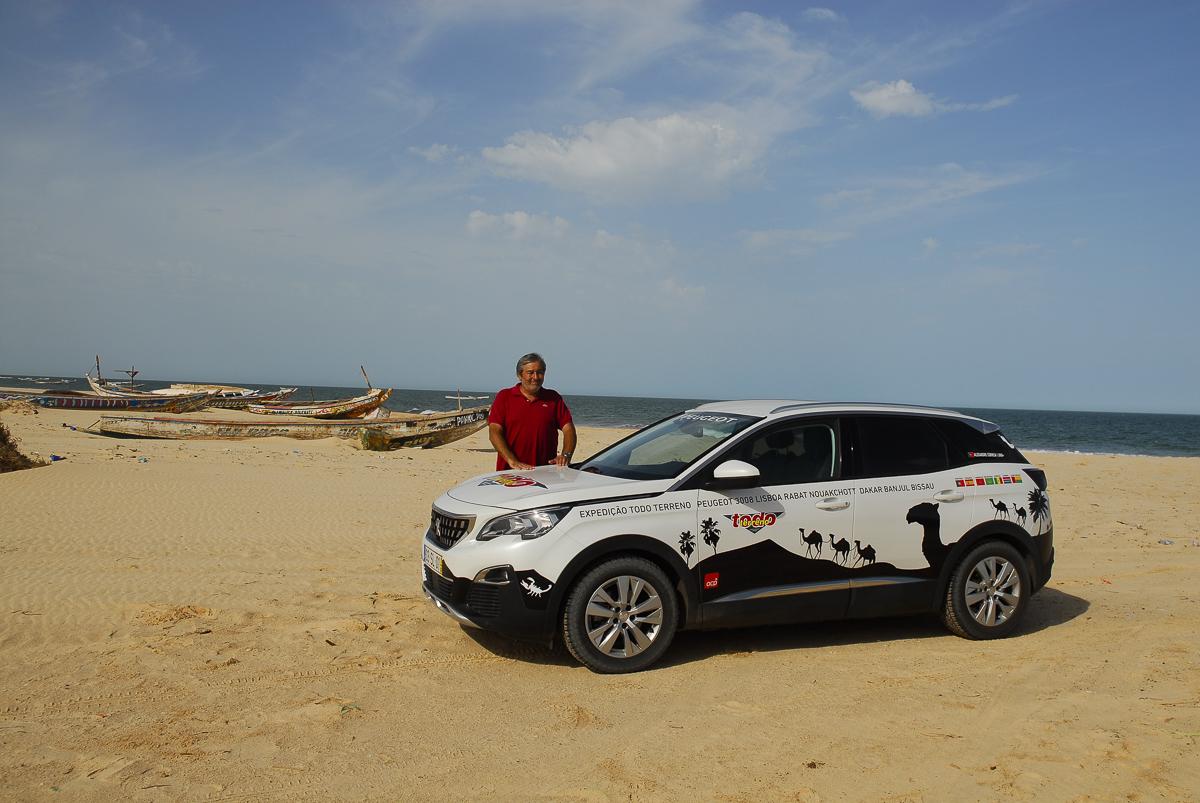 Mauritânia - Na praia de Tiwilit