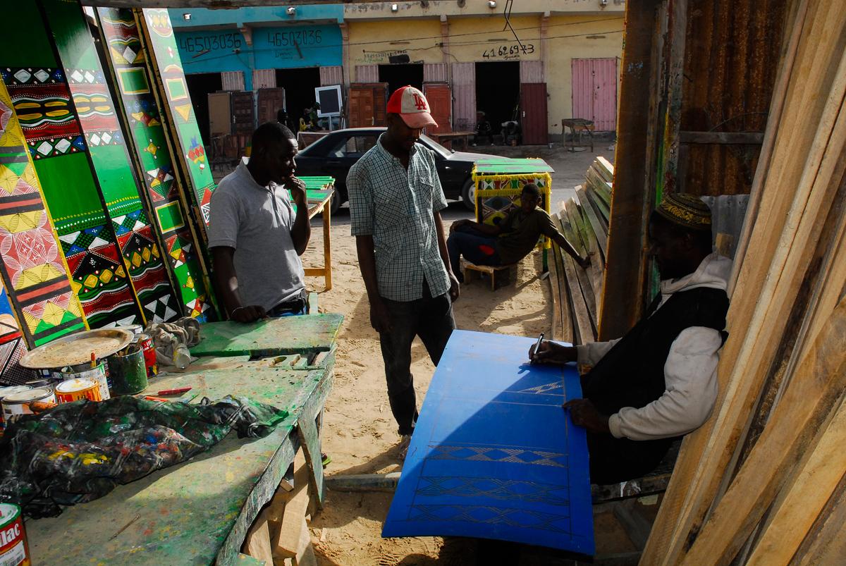 Fábrica de móveis em Nouakchott