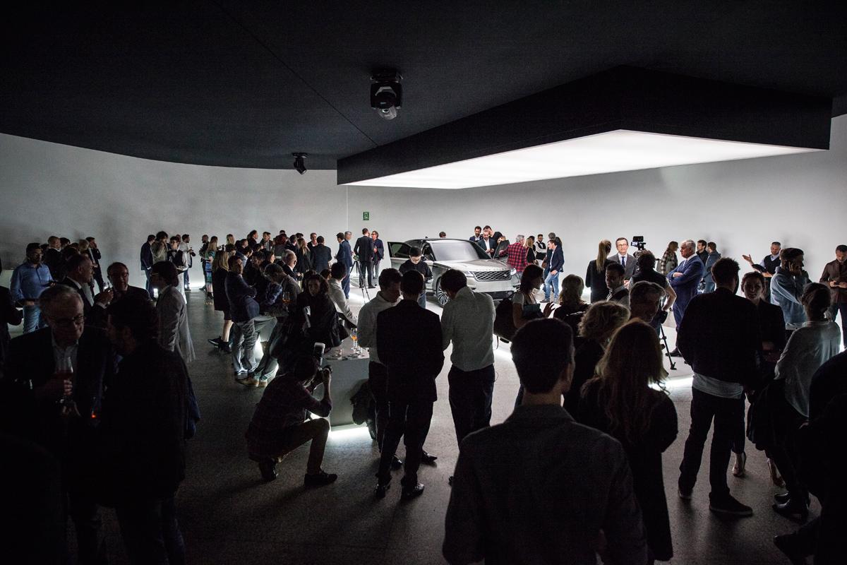 O Range Rover Velar na Milan Design Week