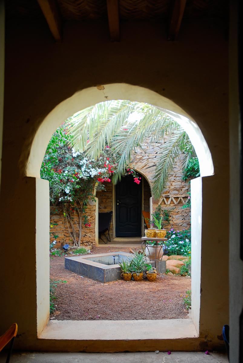 Mauritânia-Jardim-Auberge-La-Gueïla