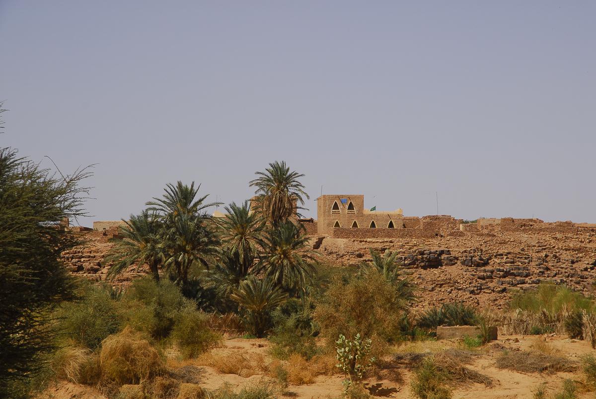 Mauritânia a cidade nova de Ouadane