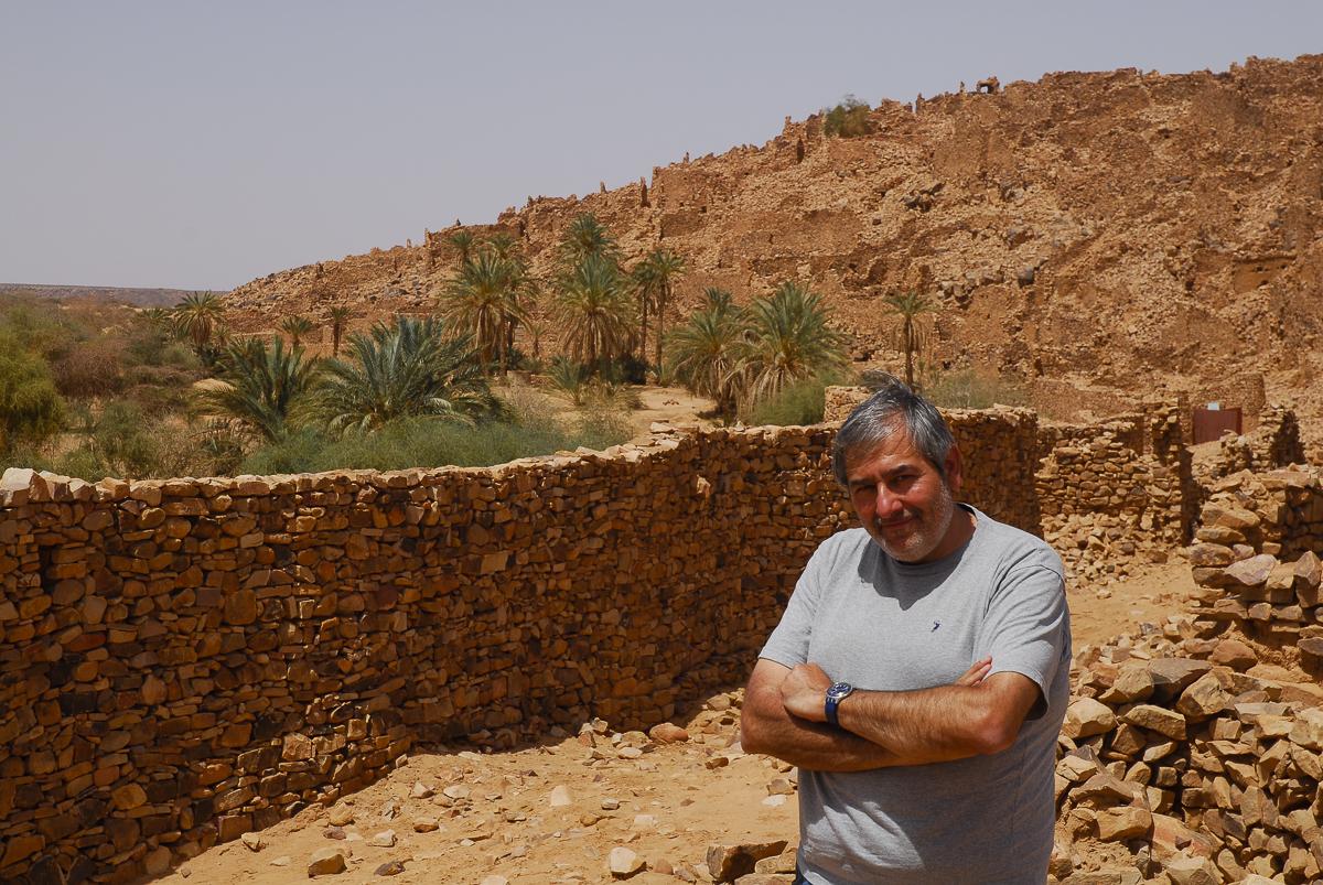 Mauritânia dentro da cidadela de Ouadane