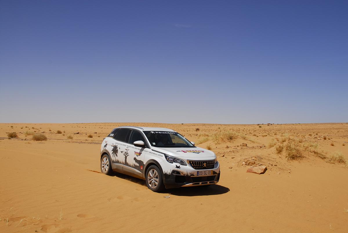 Mauritania a rolar no deserto em Ouadane