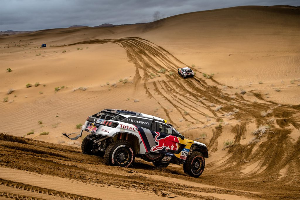 Peugeot 3008 DKR Silk Way