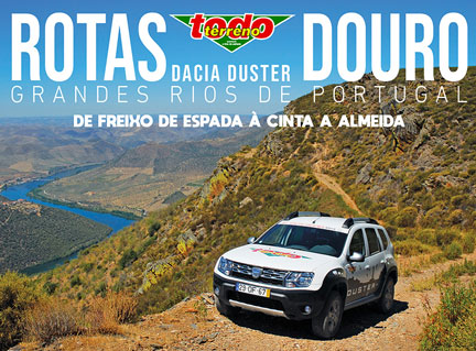 Um livro com as melhores rotas do Douro e road-books detalhados e rigorosos. PVP - 15,00€